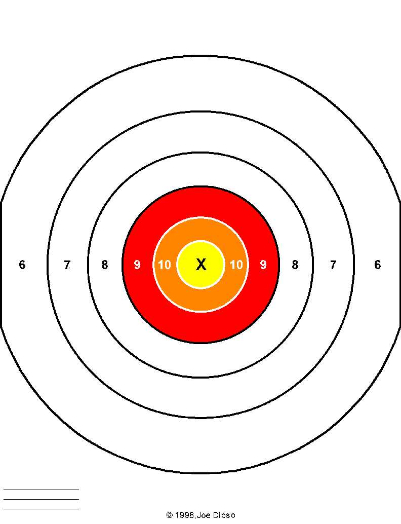 It is an image of Simplicity Free Shooting Targets